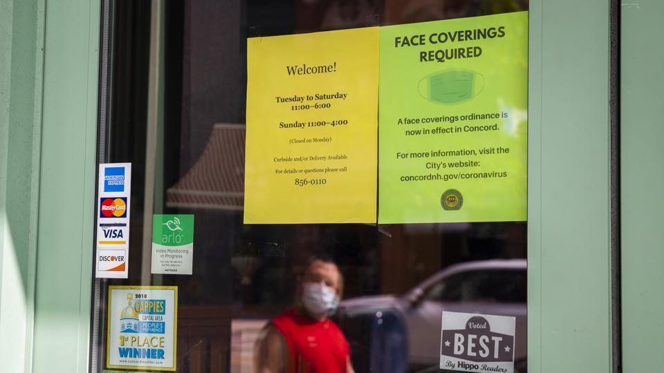The report offered a look back at the state of the economy before the novel coronavirus outbreak hit the United States early this year, shuttering many businesses as the country sought to contain the pandemic.