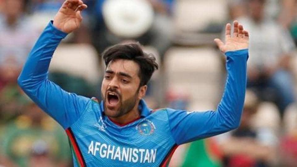 Afghanistan's Rashid Khan.