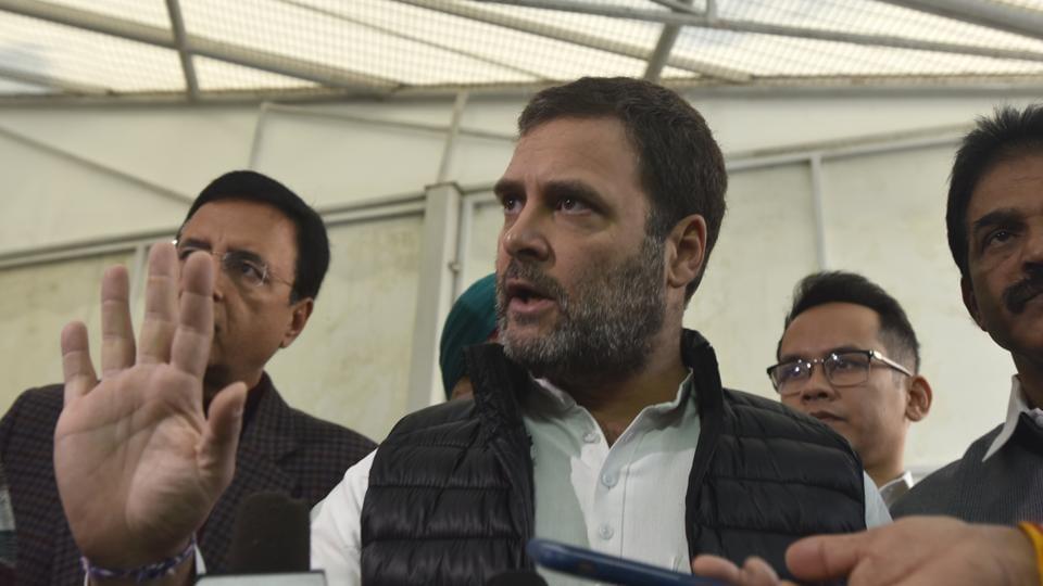 File photo: Congress MP Rahul Gandhi.