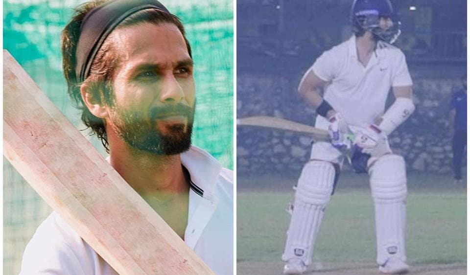 Shahid Kapoor shares throwback video of net session from Jersey sets, Mohammad Shami says 'Well played' – bollywood
