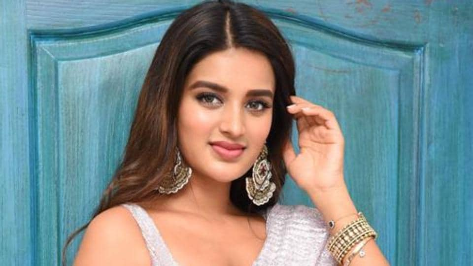 Actor Nidhhi Agerwal made her Bollywood debut with Munna Michael in 2017.