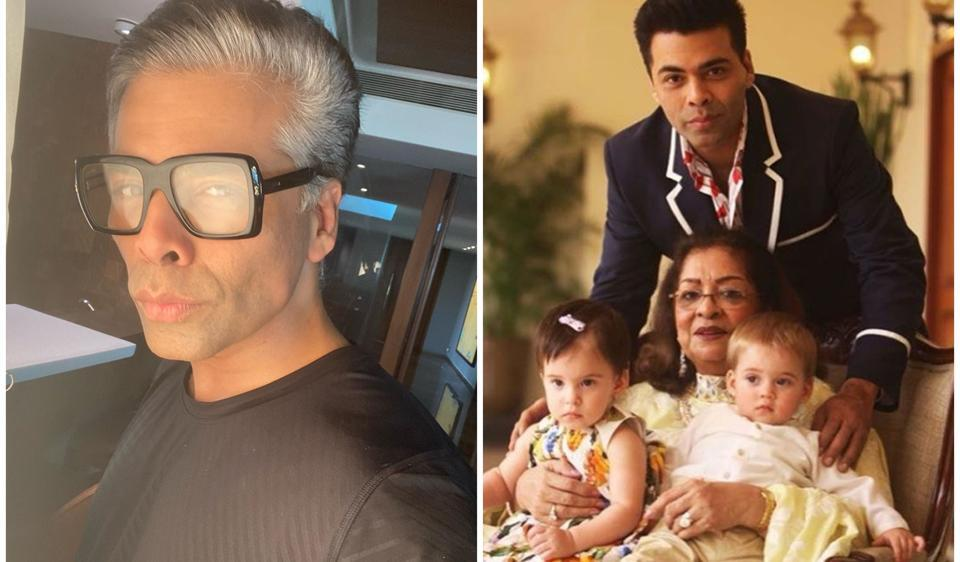 Karan Johar jets off to Goa with kids Yash and Roohi, mom Hiroo. See pics