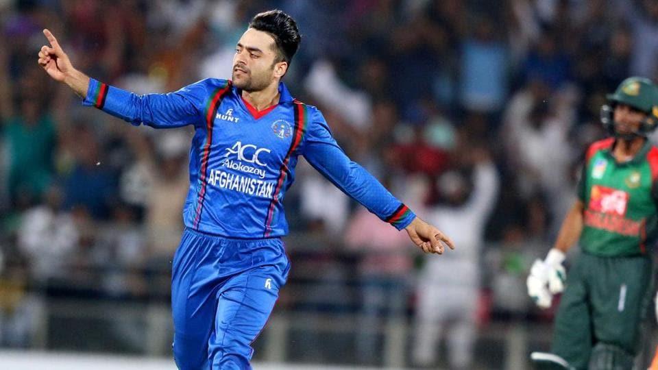 File image of Rashid Khan.