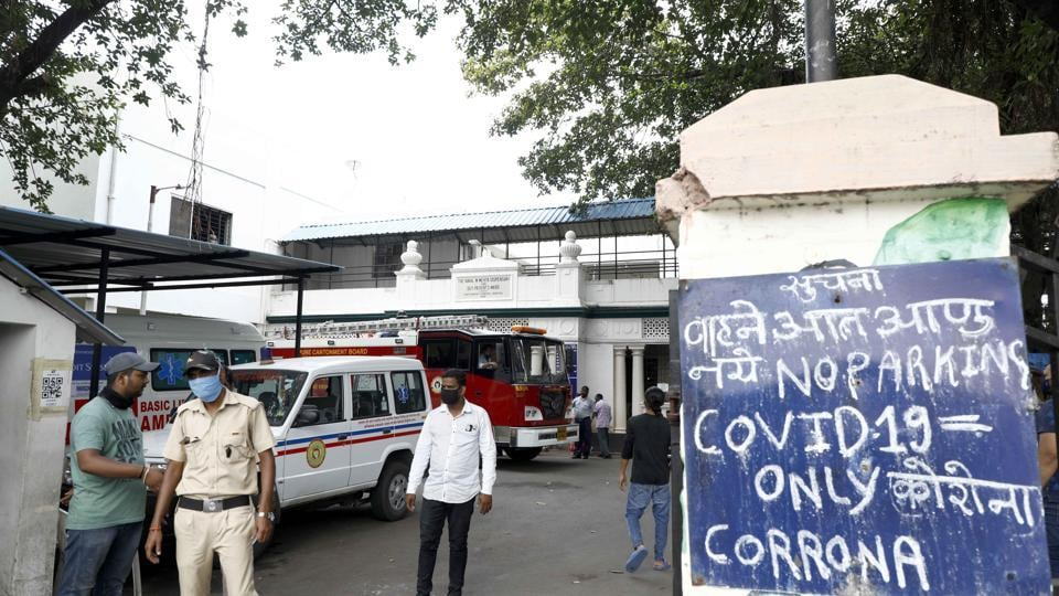 Fire in pune Cantonment hospital operation theater in camp fire broke out in operation theater in section of hospital which is presently closed.