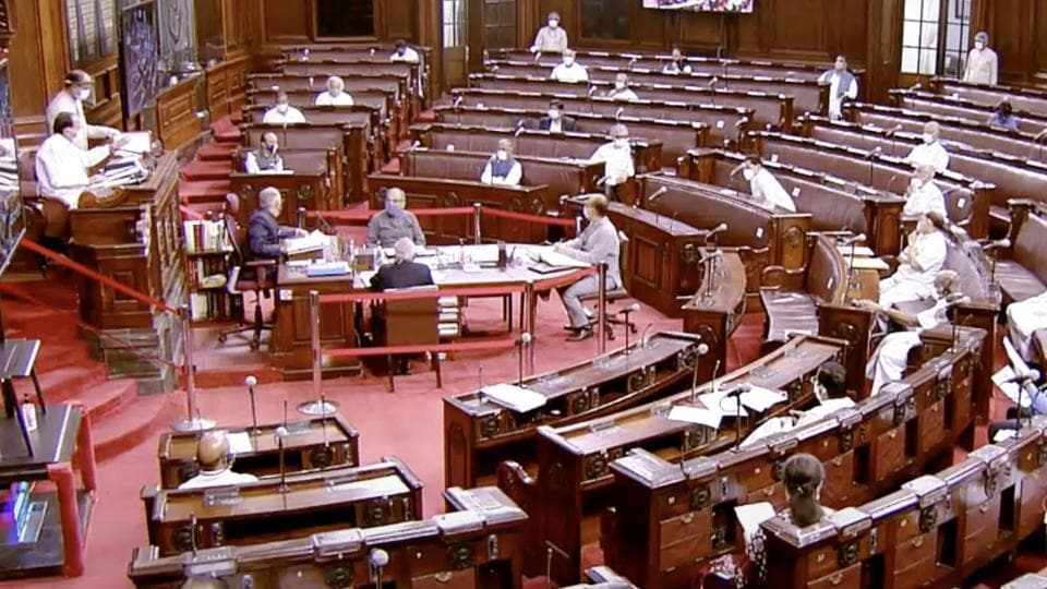 The bill was earlier passed in the Lok Sabha's budget session.
