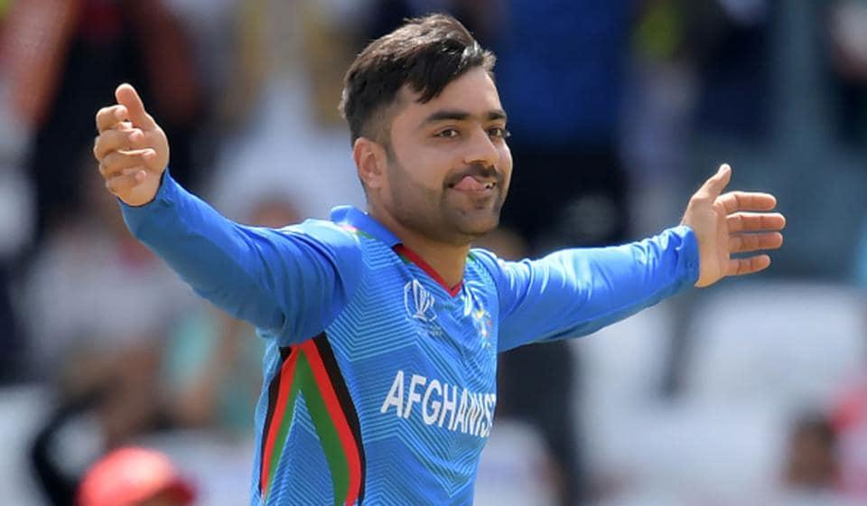 Captain Rashid Khan is Afghanistan's biggest cricket superstar.