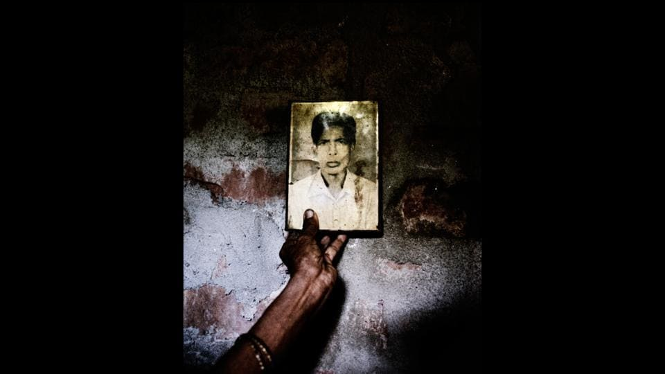 """Soumya Sankar Bose's photo book """"Where The Birds Never Sing"""" is about the Marichjhapi massacre, the forcible eviction in 1979 of Bengali refugees on Marichjhapi Island in Sundarban, West Bengal, and the subsequent death of thousands by police gunfire, starvation  and disease.  (Soumya Sankar Bose)"""