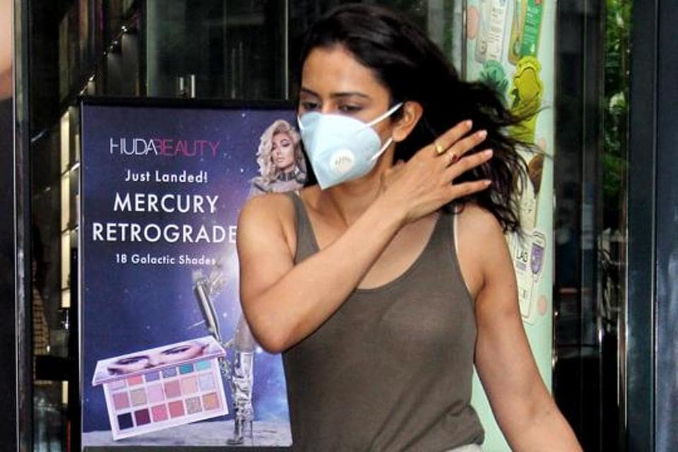 Bollywood actor Rakul Preet Singh is seen in thi file photo in Mumbai. Singh's statement was recorded on Friday by the Narcotics Control Bureau (NCB) in connection with a drug case related to the death of Sushant Singh Rajput in June.