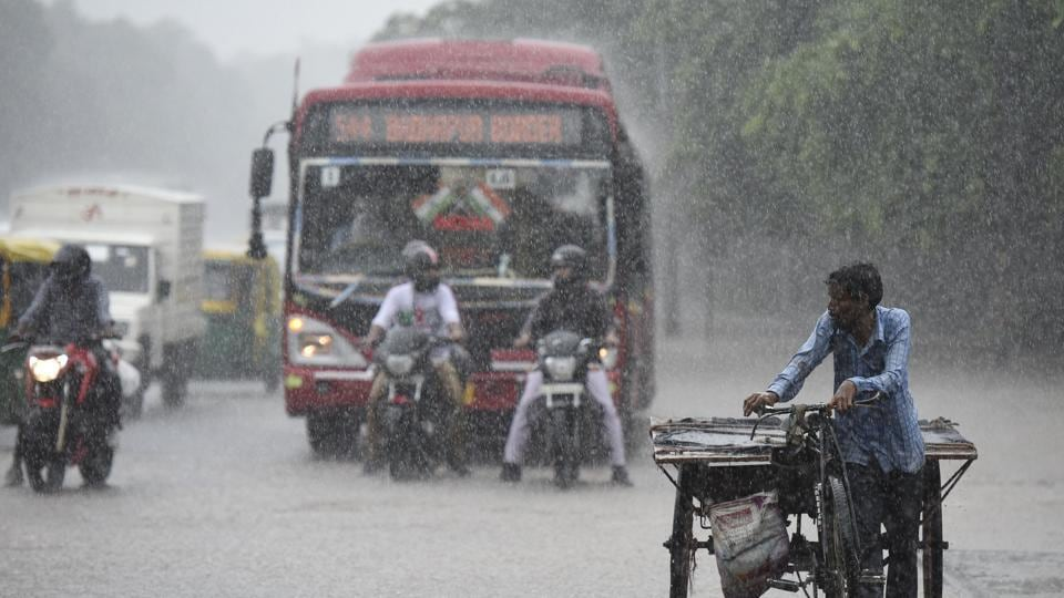 Heavy rain likely in south, central and parts of east India