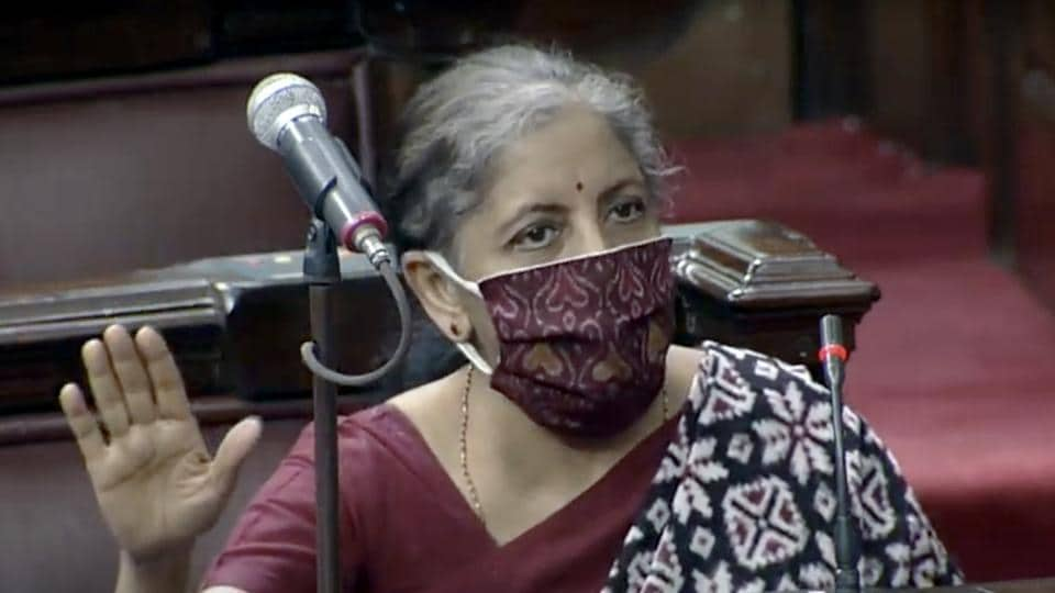 """Moving the Bill for passage by the House on Wednesday, Sitharaman said the financial health of several cooperative banks was becoming """"very delicate""""."""