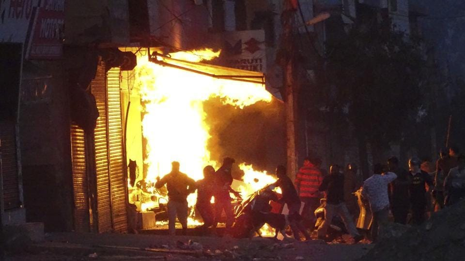 At least 53 persons died while 400 others were injured in clashes between Hindus and Muslims that broke out in different parts of north-east Delhi on February 24.