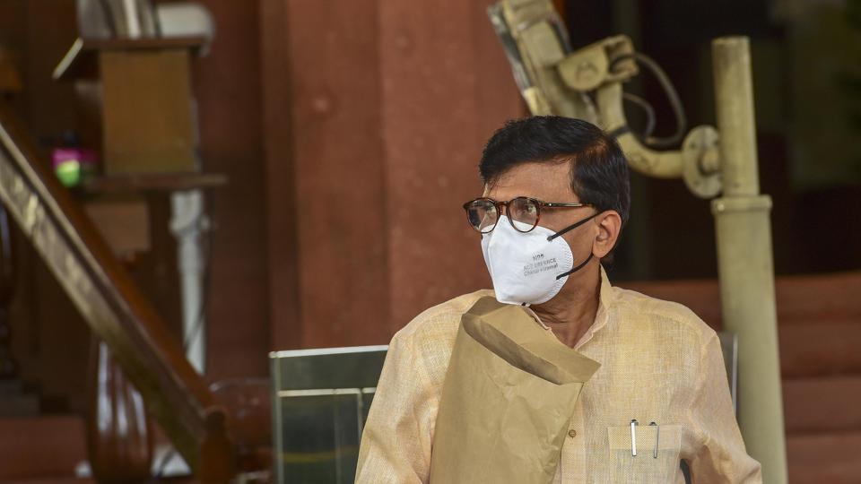 In defending Maharashtra's Covid-19 fight, Sanjay Raut takes 'bhabhi ji ke papad' jibe at minister - Hindustan Times