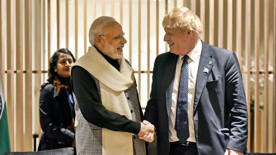 'Hope to see you soon': Boris Johnson wishes Narendra Modi on 70th birthday