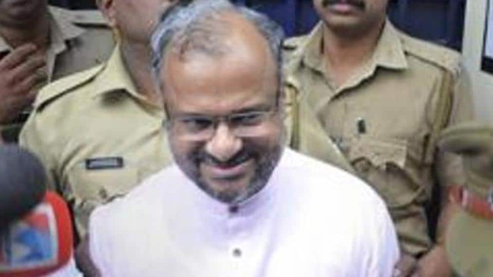Rape accused Roman Catholic Bishop Franco Mulakkal  appeared in court on the day when trial began.