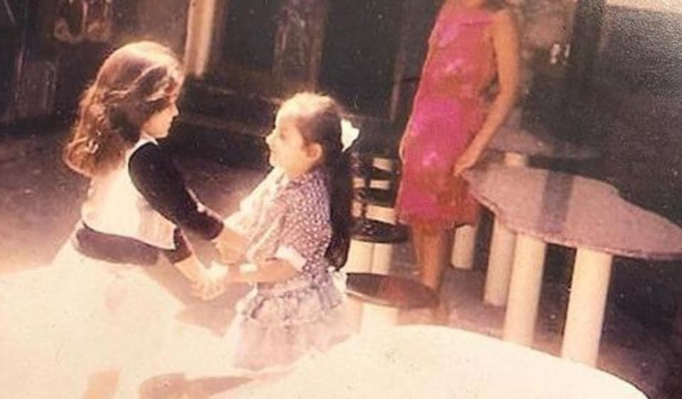 Alia Bhatt with best friend Akansha Ranjan Kapoor.