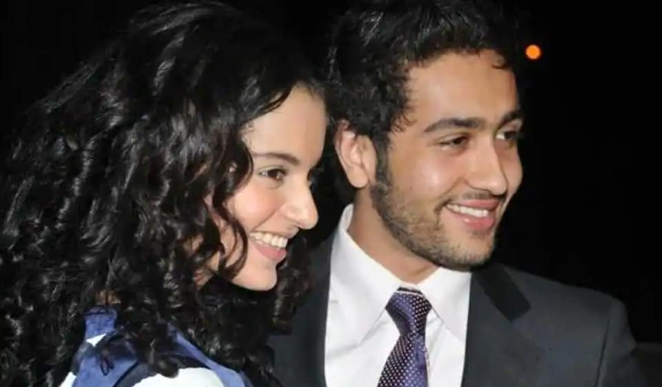 Adhyayan Suman and Kangana Ranaut were in a relationship from 2008-2009.
