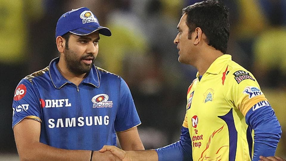The two most successful IPL captains - Rohit Sharma and MS Dhoni