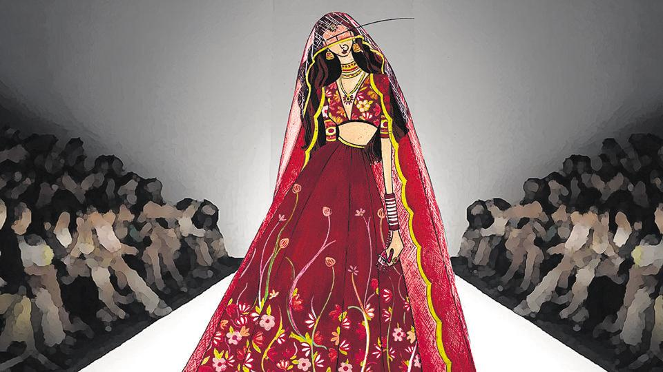 Couture which was once the Holy Grail has now emerged as the survival mantra for an industry, which has faced back breaking turmoil, rather assiduously.