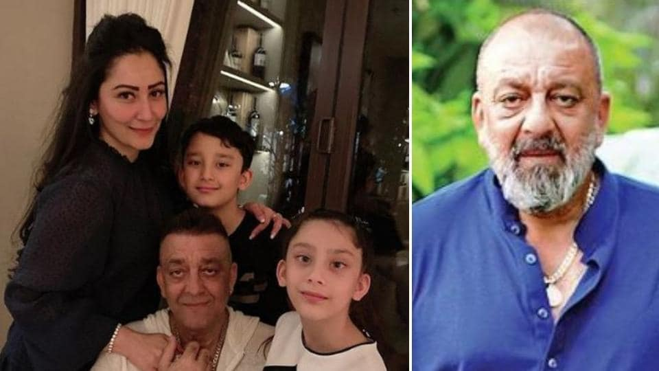 Maanayata Dutt has shared a family picture with husband Sanjay Dutt and their two kids.