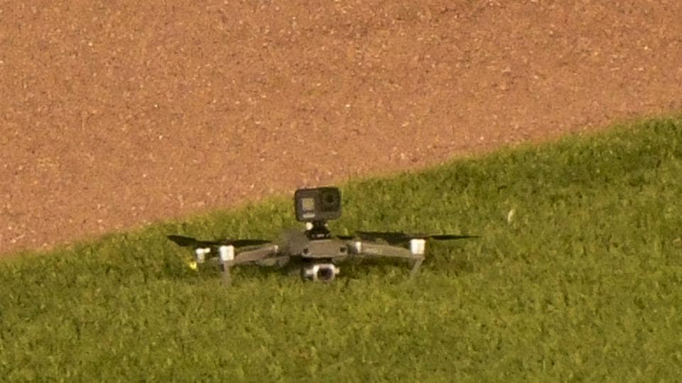 The image shows the drone in question.