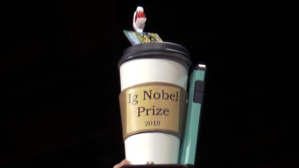 The spoof prizes for weird and sometimes head-scratching scientific achievement were presented online in 2020 due to the coronavirus pandemic.