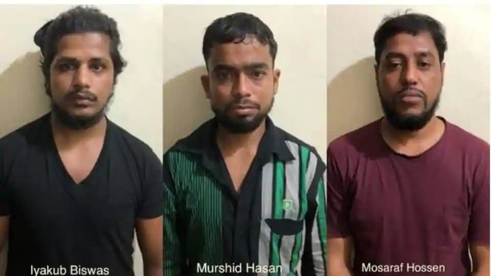 NIA has arrested six terrorists from West-Bengal and three terrorists from Kerala in the early morning raids.