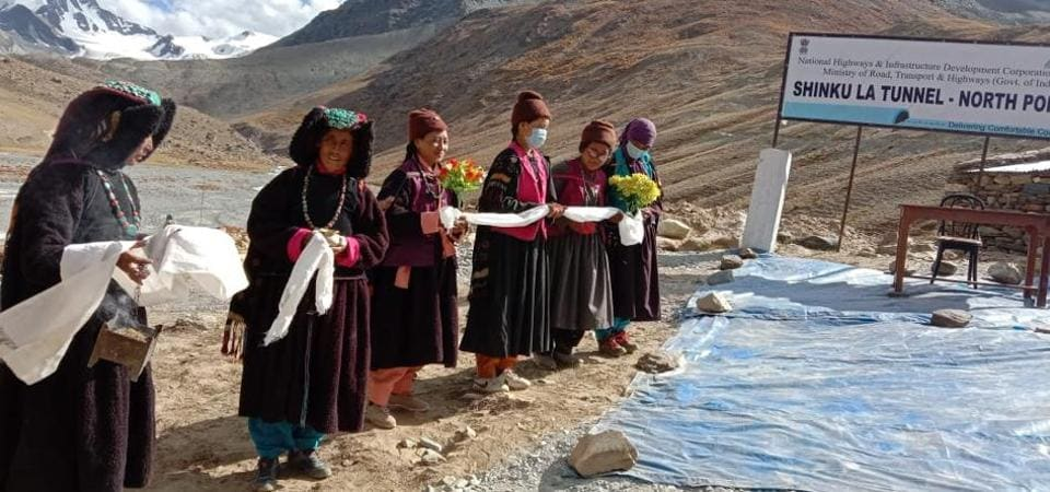 The 13.5-km Shinku La Tunnel will connect the Union Territory of Ladakh with tribal Lahaul and Spiti district of Himachal Pradesh.
