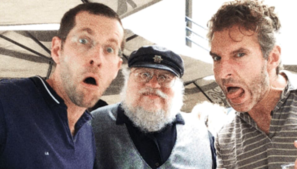 George RR Martin was impressed by David Benioff, DB Weiss' right answer.
