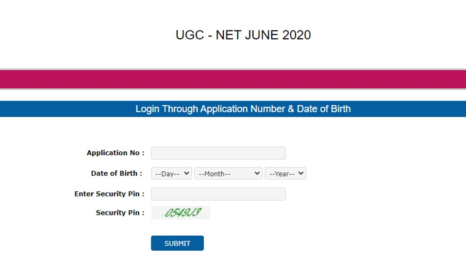 UGC-NET 2020 admit card out