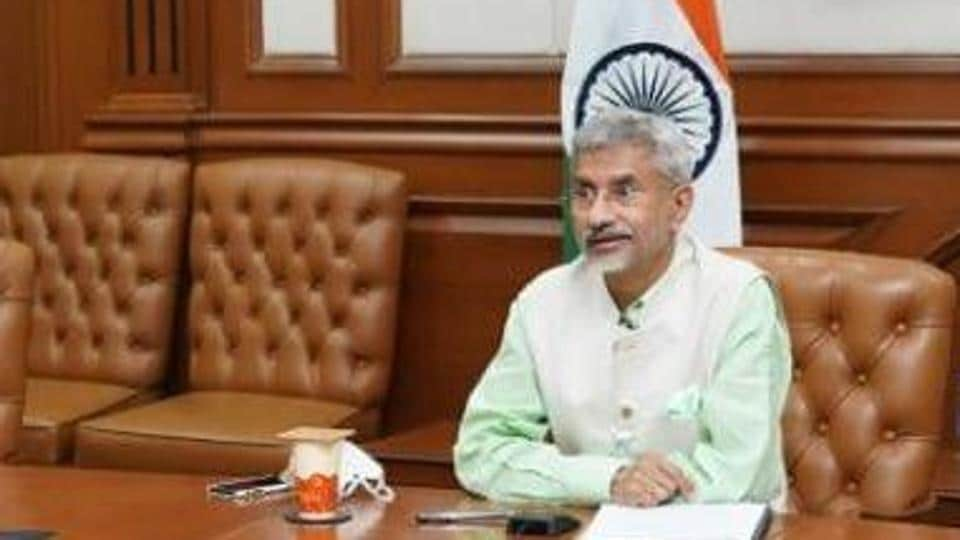 Union minister for external affairs S Jaishankar