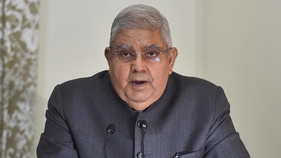West Bengal Governor Jagdeep Dhankhar warned that there is a decline in law and order situation in the state.