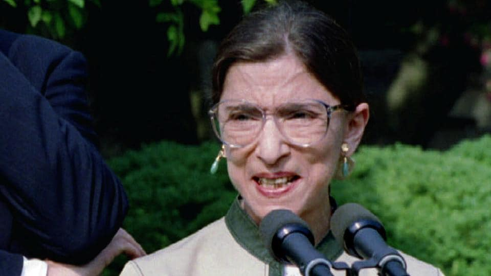 US Supreme Court Justice Ruth Bader Ginsburg died at the age of 87.