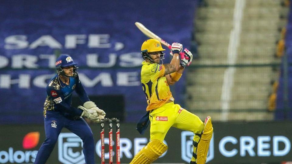 IPL 2020 Highlights, CSK vs MI: CSK beat MI by 5 wickets, Rayudu, Du  Plessis star with fifties - cricket - Hindustan Times