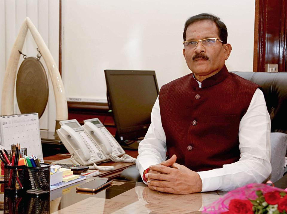 """Minister Shripad  Naik  was replying to a question on whether the defence ministry will consider using and selling only """"Made in India"""" products in its stores."""