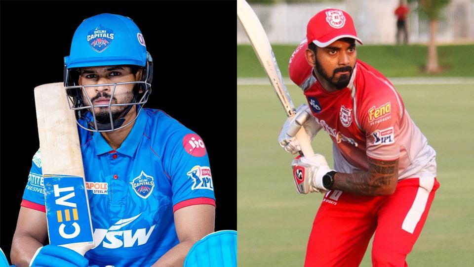 IPL 2020: India teammates Shreyas Iyer (L) and KL Rahull will be up against each other.