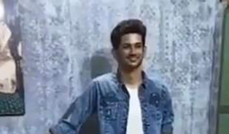 The wax statue of Sushant Singh Rajput in West Bengal.