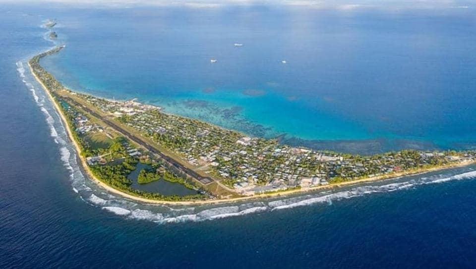 Tuvalu is one of the smallest countries, stretching only for 26 square kilometres.
