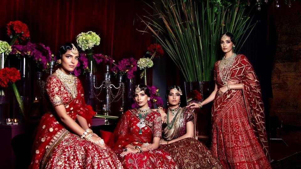 Designer JJ Valaya showcased his new collection titled Bursa at India Couture Week 2020.