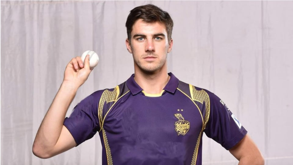 KKRfast bowler Pat Cummins.