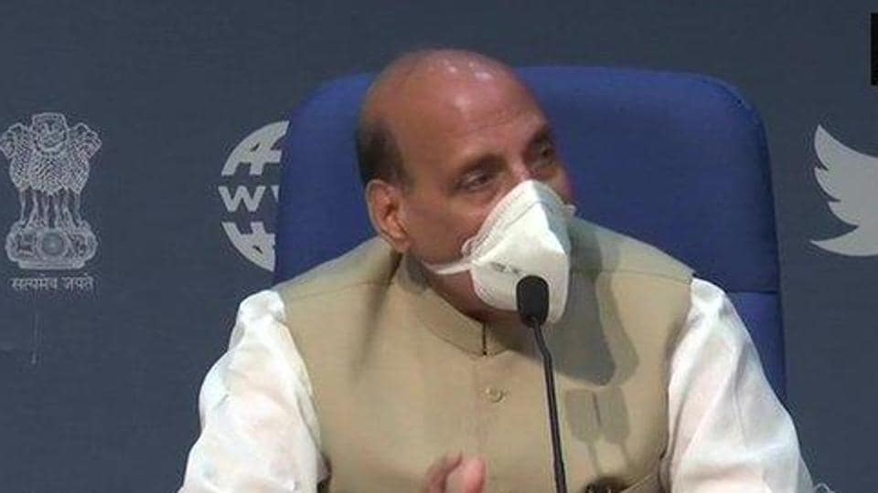 At a press conference on Sunday evening, Rajnath Singh said the opposition was trying to mislead farmers.