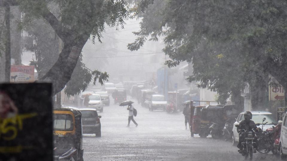 The southern states of Karnataka, Andhra Pradesh and Telangana received up to 50% excess rain during the same period with Chitradurga district in Karnataka seeing 245% excess rainfall.