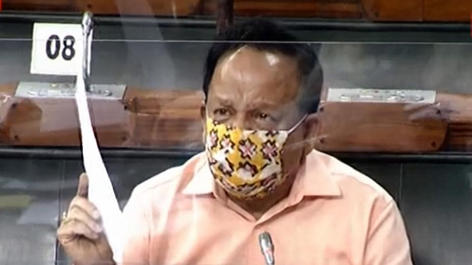 Mathematical predictions of Covid-19 peak are based on several assumptions, which may not always be accurate, says Union health minister Harsh Vardhan.
