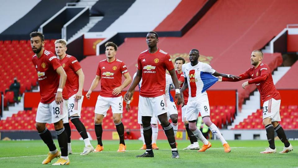 Sluggish Man United beaten 3-1 by Palace in 1st EPL game