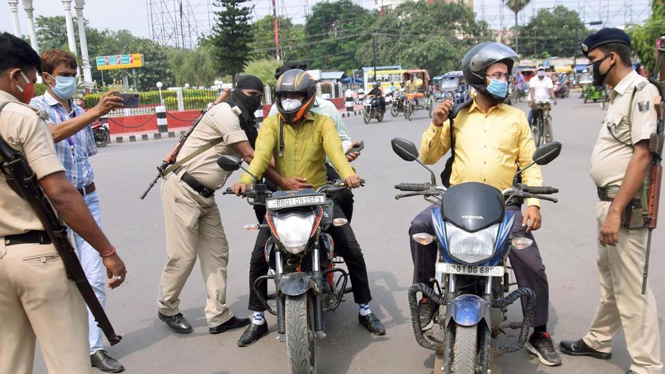 Police personnel said they were trying to identify the miscreants in the protesting crowd.