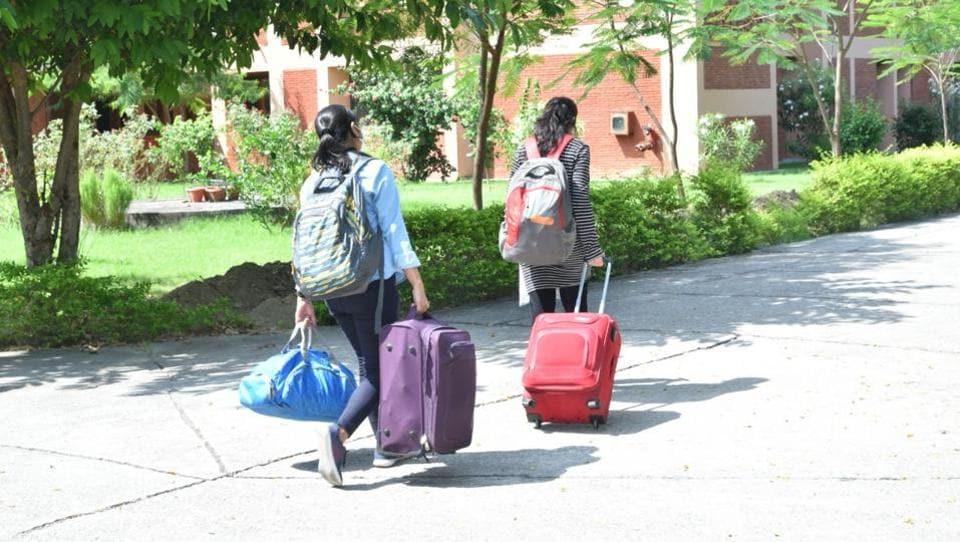 Students will undergo 14 days' mandatory quarantine in designated hostels on the IIT Kanpur campus.