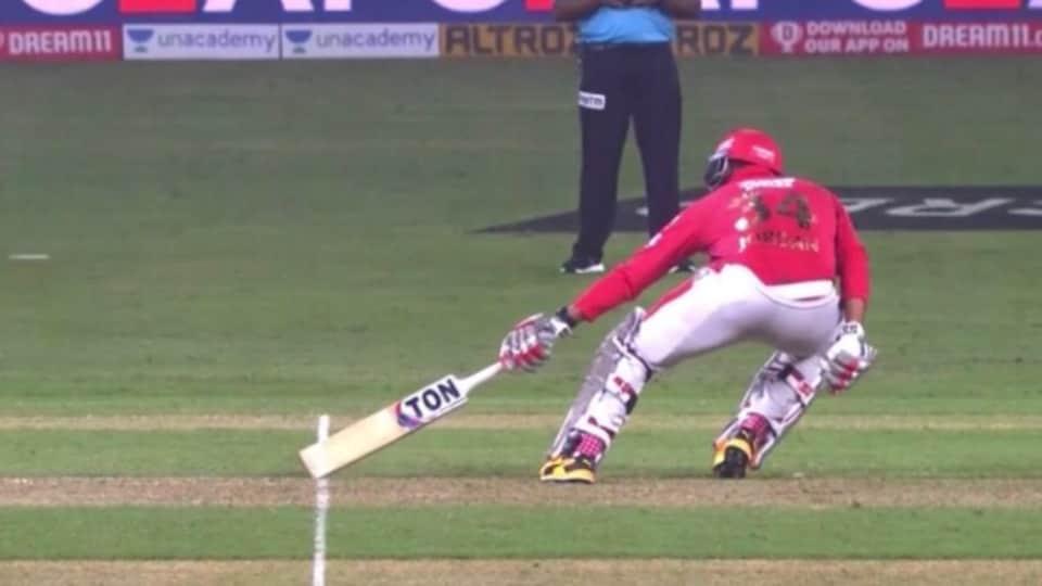 "IPL 2020: Square leg umpire Menon had called a ""run short"" when Chris Jordan took a couple of runs off Rabada."