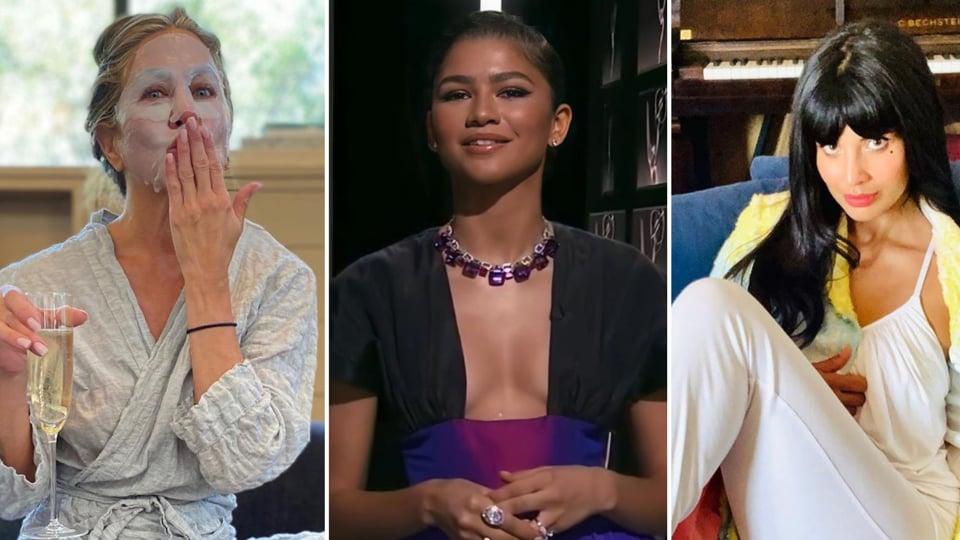 Jennifer Aniston, Zendaya, Jameela Jamil