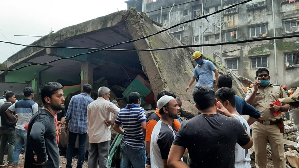 A child was pulled alive by the National Disaster Response Force (NDRF), which is carrying out rescue efforts.