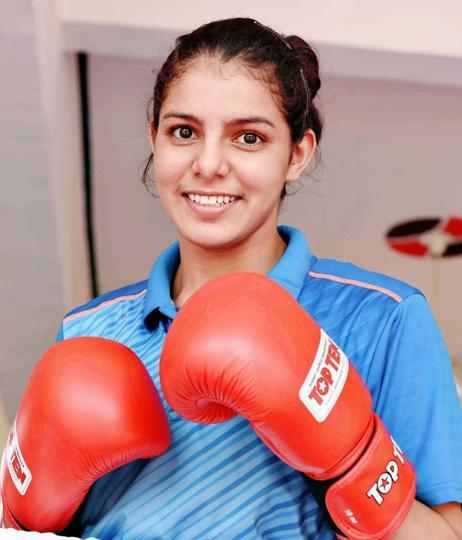 Boxer Sakshi won gold in Youth World Championship held in Guwahati in November, 2017. She went on to strike gold the next year too.