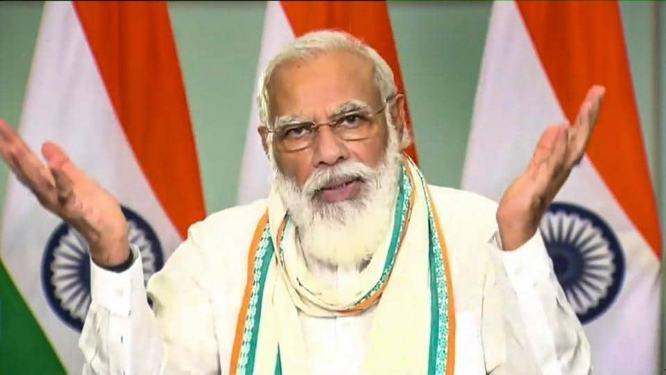 Prime Minister Narendra Modi's tweet comes after the government hiked the minimum support price of wheat by Rs 50 per quintal to Rs 1,975 per quintal to encourage farmers to increase cultivation of the crop.